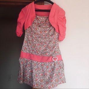 One Step Up half sleeve shirt dress